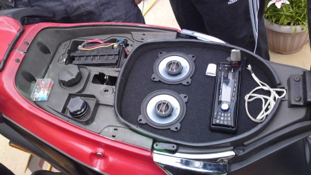 Inphase Ips100ssd On A Nrg 50cc Car Audio Centre News