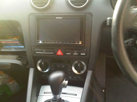 Audi European Delivery >> Pioneer AVIC F20BT IN AUDI A3 INSTALLED BY CAR AUDIO ...