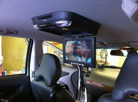 IVR11 fitted into a Volvo XC90
