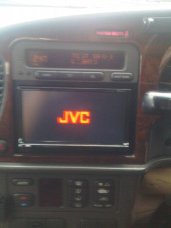 JVC KW-AVX830 in car entertainment system, double din, ipod,usb, 5 v preout