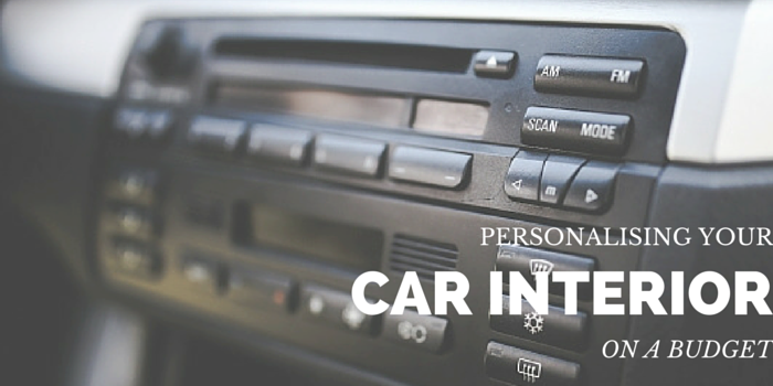 Personalising car interior on a budget