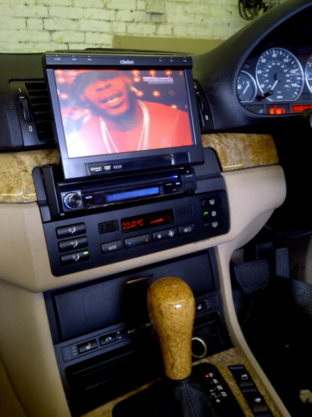 Bmw E46 3 Series Coupe Fitted With The Clarion Vz409e Multimedia System  U2013 Car Audio Centre News