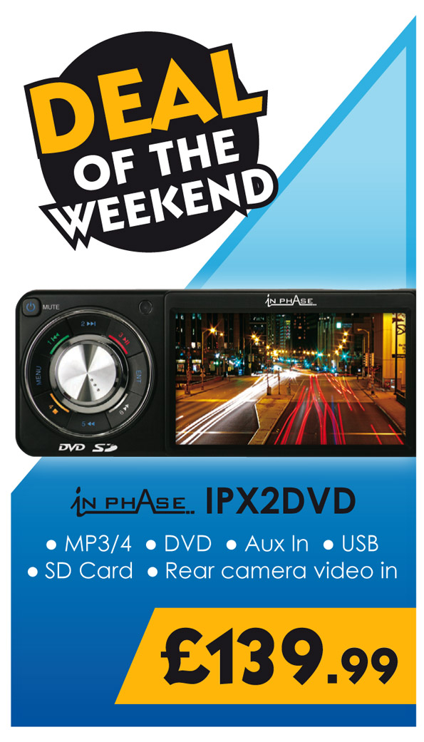 Inphase IPX2 DVD Weekend Deal