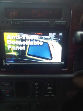 JVC KD-AVX8730 DOUBLE DIN MULTIMEDIA STATION IN CAR ENTERTAINMENT