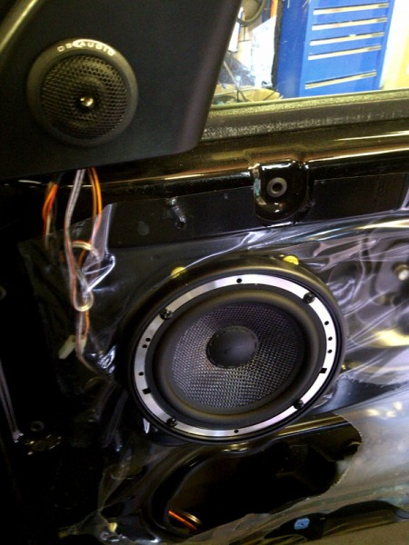 Db Audio Trex6 2c Component Speakers Installed Into A Land