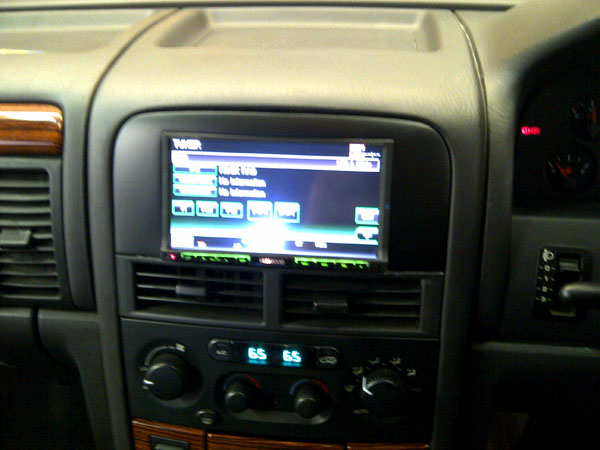Jeep Cherokee Has a Kenwood DNX-9280BT Custom installed at Car Audio Centre Manchester