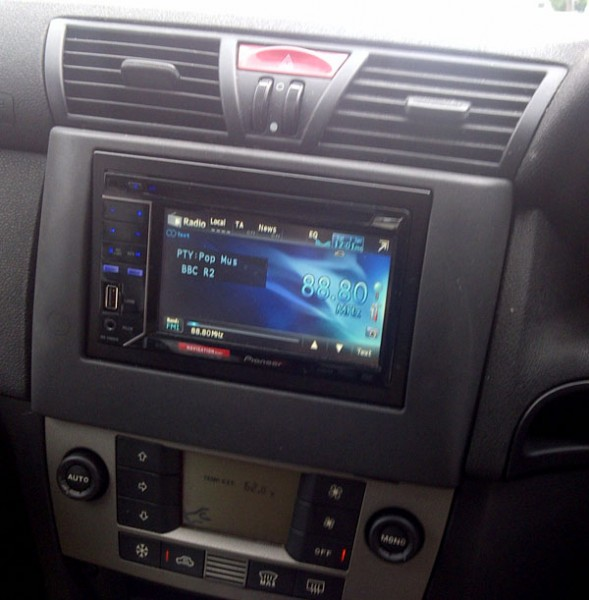 Car Audio Centre Tooting Install Pioneer AVH-2300DVD into Fiat Stilo