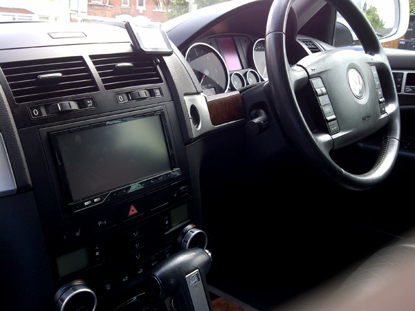 Vw Toureg Car audio centre tooting has the pioneer AVH-P4200DVD 