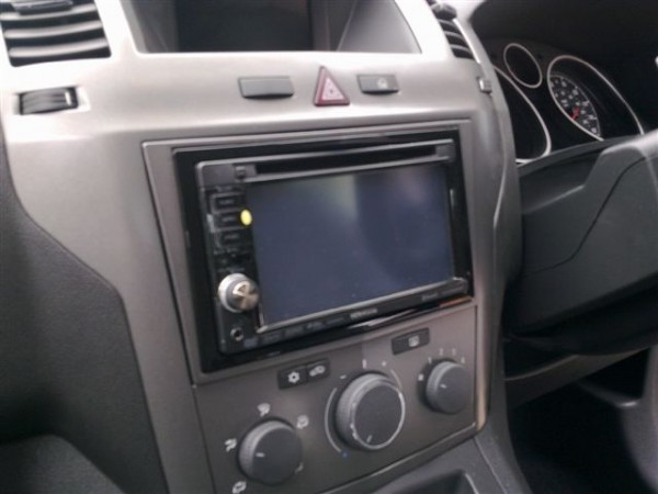 Vauxhall Zafira install of the Kenwood DNX-5240BT at the Car Audio Centre Leicester