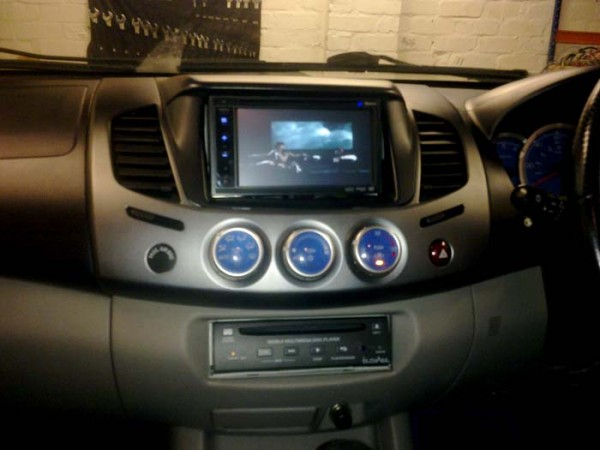 Mitsubishi L200 Gets A Full Av Make Over Using Clarion