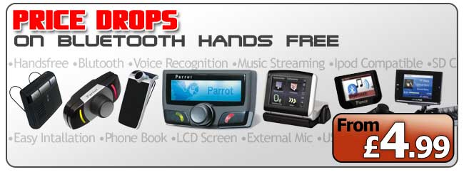 Price Drops on Bluetooth Hands Free