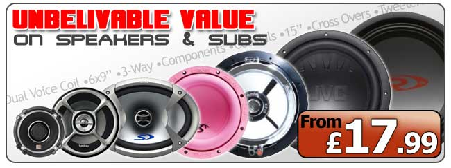 Unbelivable Value on Speakers and Subs