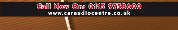 4.99 Delivery on all Car Electronics orders this weekend at Car Audio Centre