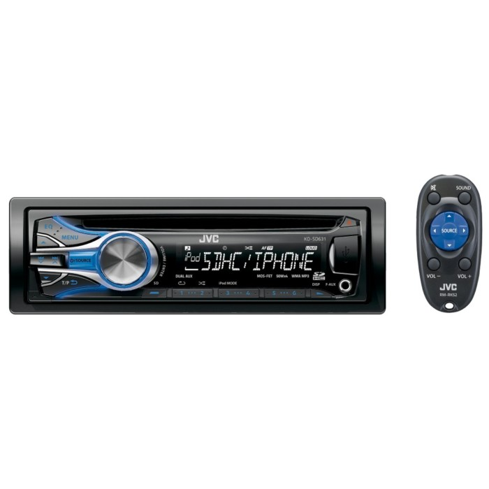 CD Receiver Car Audio Product Information JVC India