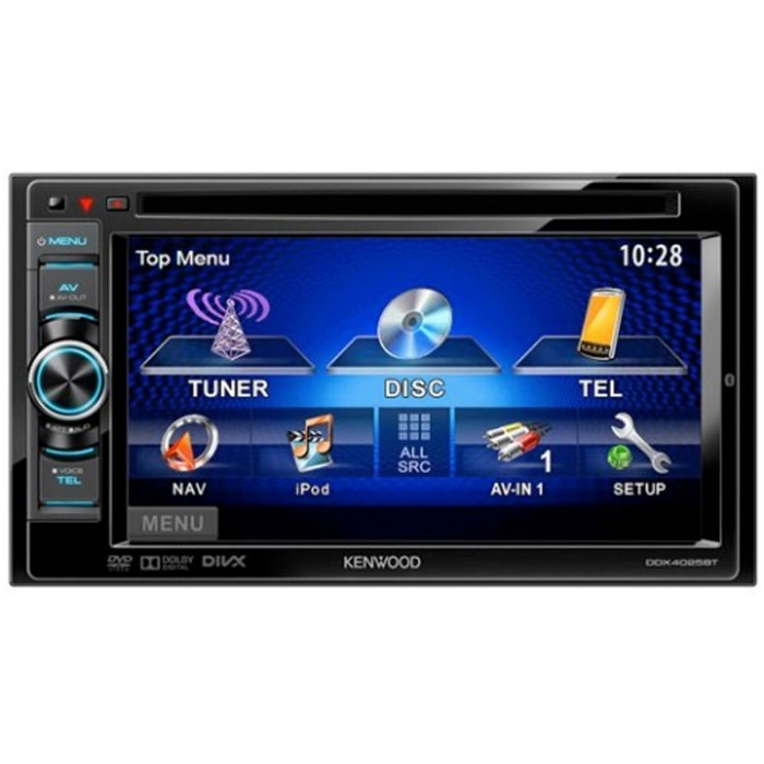 "Kenwood Touchscreen Radio >> DDX-4025BT Double Din AV station 6.1"" Touchscreen CD/DVD/USB"