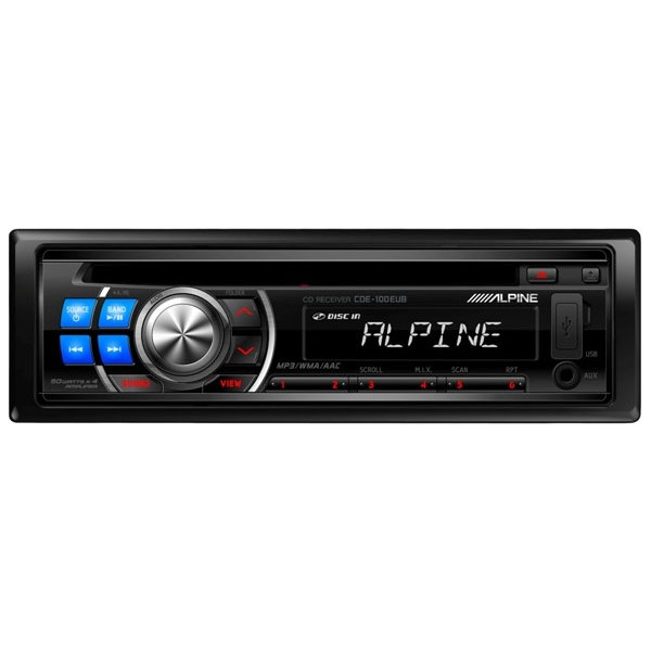 Alpine CDE-100EUB CD / MP3 / WMA Car Stereo - Car Audio Centre