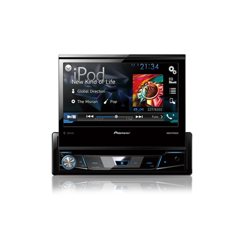 Double din car stereo with built in bluetooth 13