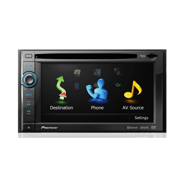 Pioneer AVIC-F930BT double din Sat nav system, ipod control,Bluetooth handsfree - Car Audio Centre