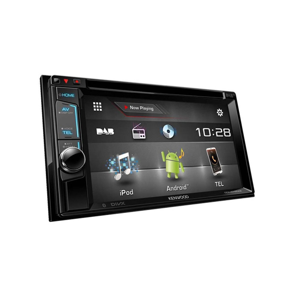 ddx 4015dab double din multimedia head unit with dab and. Black Bedroom Furniture Sets. Home Design Ideas
