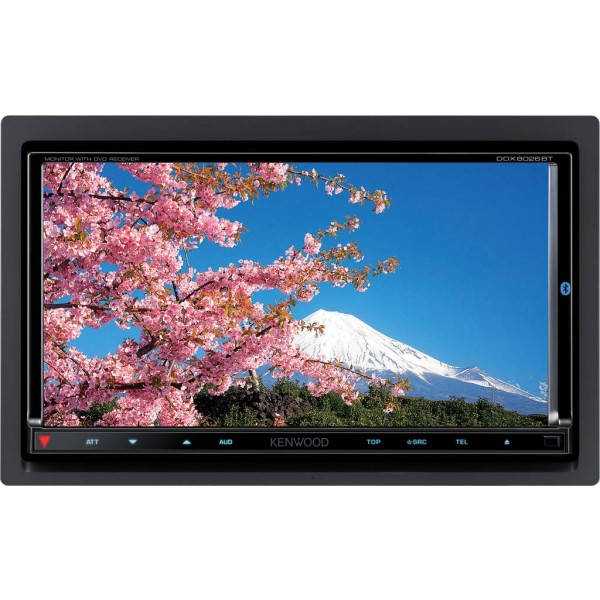 "Kenwood DDX8026BT 7,0"" Wide VGA 2DIN DVD-Receiver with USB interface"