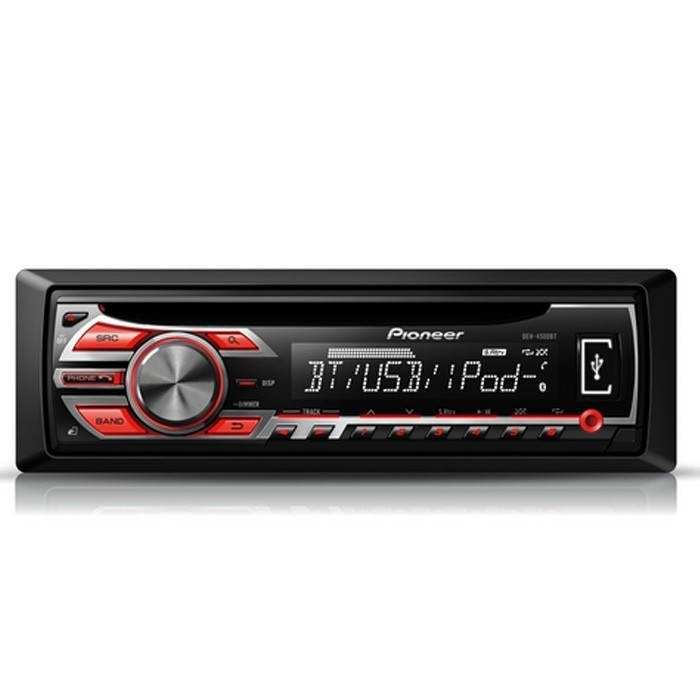 Pioneer DEH-4500BT CD/MP3 Car stereo with built in Bluetooth and iPod/iPhone control - Car Audio Centre
