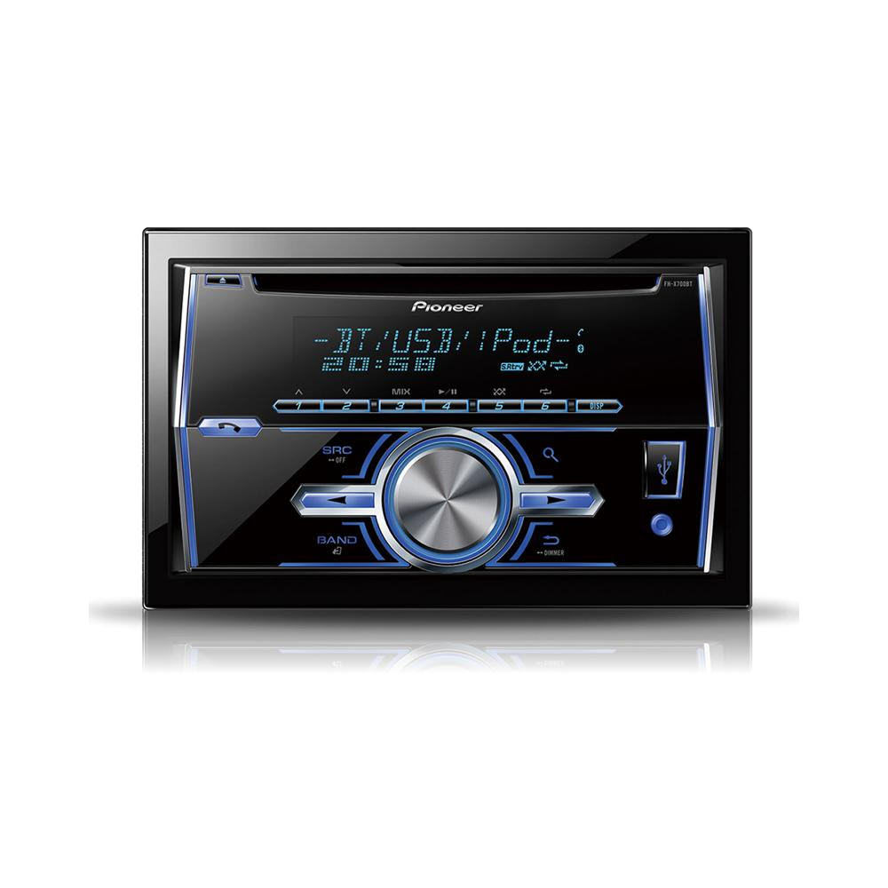 Fh X700bt Double Din Cd Mp3 System With Built In Bluetooth