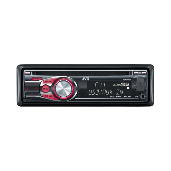 KD-R411 CD / MP3 / WMA Car Stereo With USB & Aux In