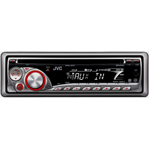 jvc kd g343 car stereo ebay. Black Bedroom Furniture Sets. Home Design Ideas