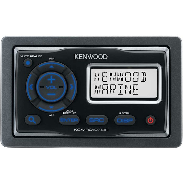 Kenwood Kca Rc107mr Marine Wired Remote Control With Lcd