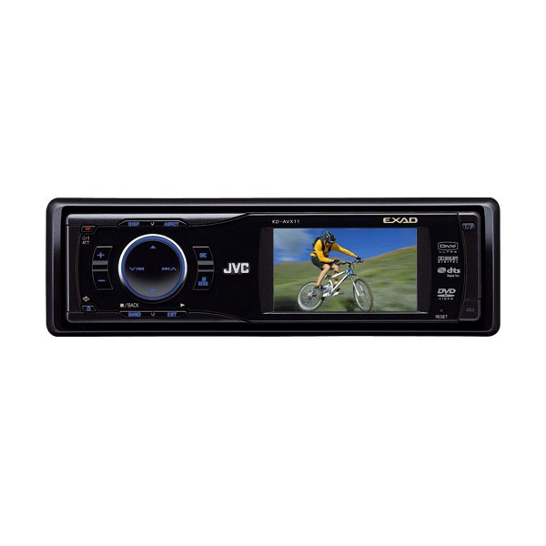 "KD-AVX11 Single Din DVD/MP3/CD 3.5"" colour screen, B-Stock ..."