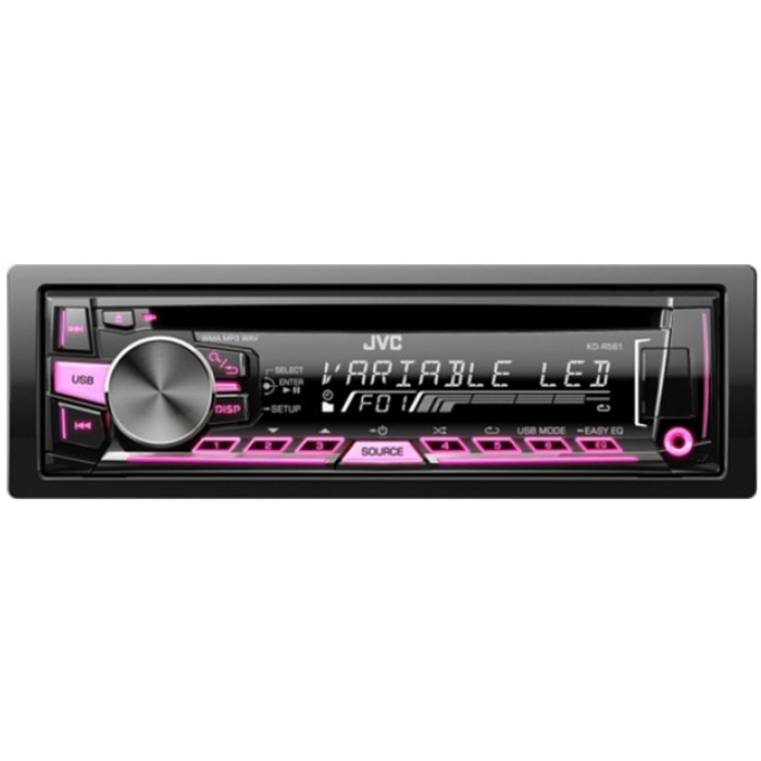 Kd R453 Cd Mp3 Car Stereo Front Usb Aux Input: KD-R561 CD Receiver With Front USB/AUX Input Variable