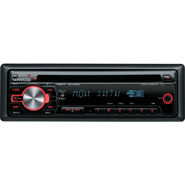 kenwood kdc w3044a cd mp3 wma car stereo kdc w3044a. Black Bedroom Furniture Sets. Home Design Ideas
