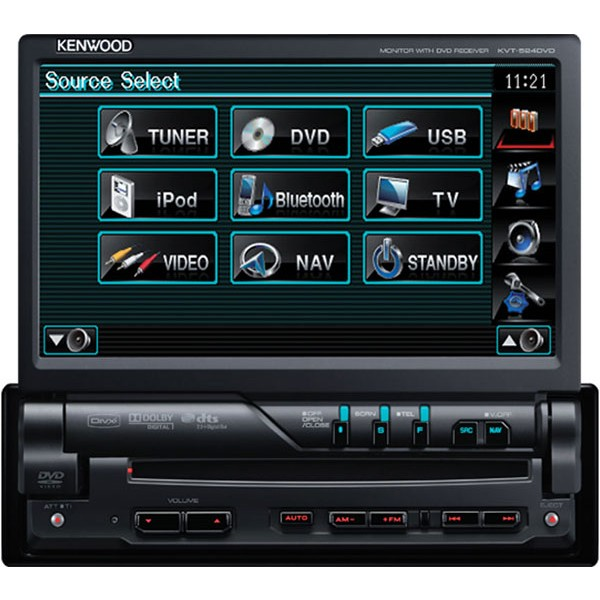 Product m Kenwood Kvt 524dvd p 23852 on panasonic cd car stereo