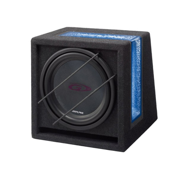 "Alpine SBG-1044BR Ready to use Band Pass 10"" Subwoofer - Car Audio Centre"