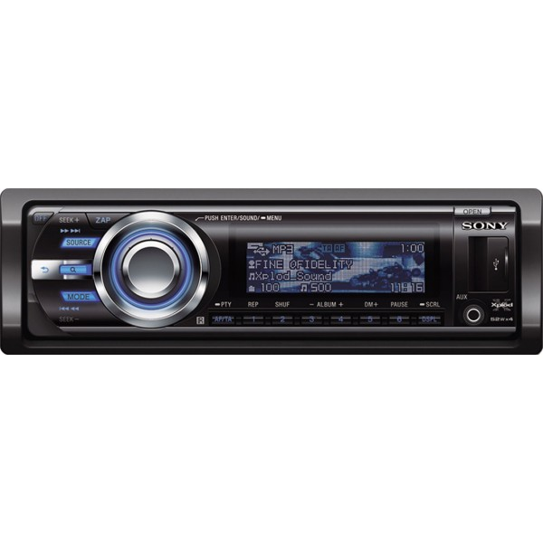 Sony Cdx  Mp3    Wma    Ipod Ready Car Stereo