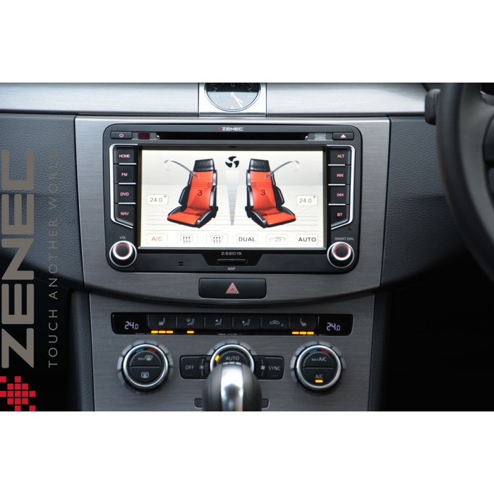 z e2015 navigation system with 7 touchcreen for vw seat. Black Bedroom Furniture Sets. Home Design Ideas