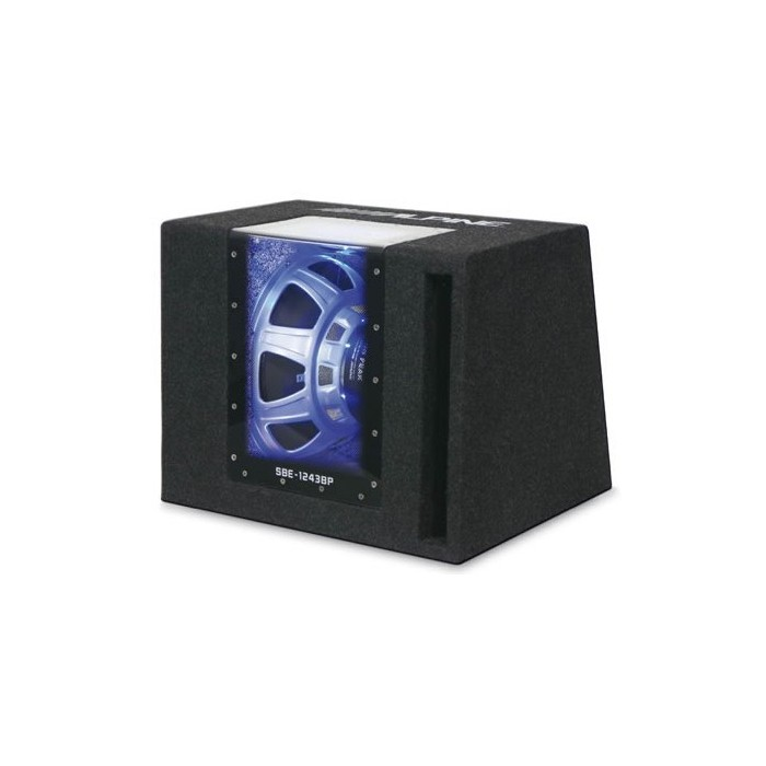 Alpine SBE-1243BP Band pass subwoofer box - 800 watts - Car Audio Centre