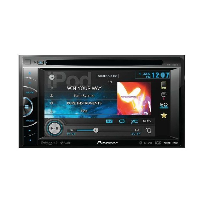 Pioneer AVH-X3500DAB Digital Radio Car DVD System, Bluetooth iPod/iPhone USB - Car Audio Centre