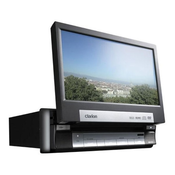 Clarion B-Stock VRX578RUSB 7 inch screen DVD player - Car Audio Centre