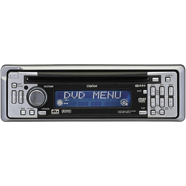 Clarion cd dvd player