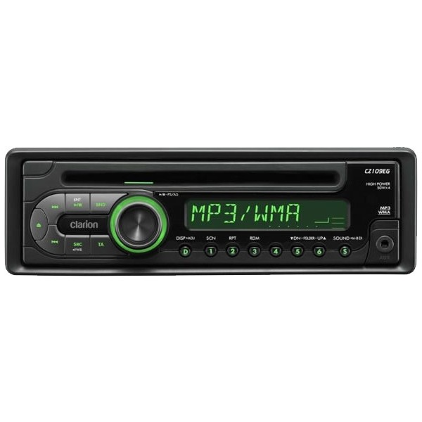 Clarion CD Player on Panasonic Car Stereo Cd Player
