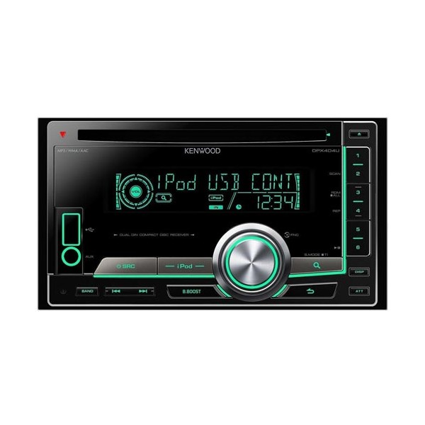 Kenwood Double Din Cd Car Stereo