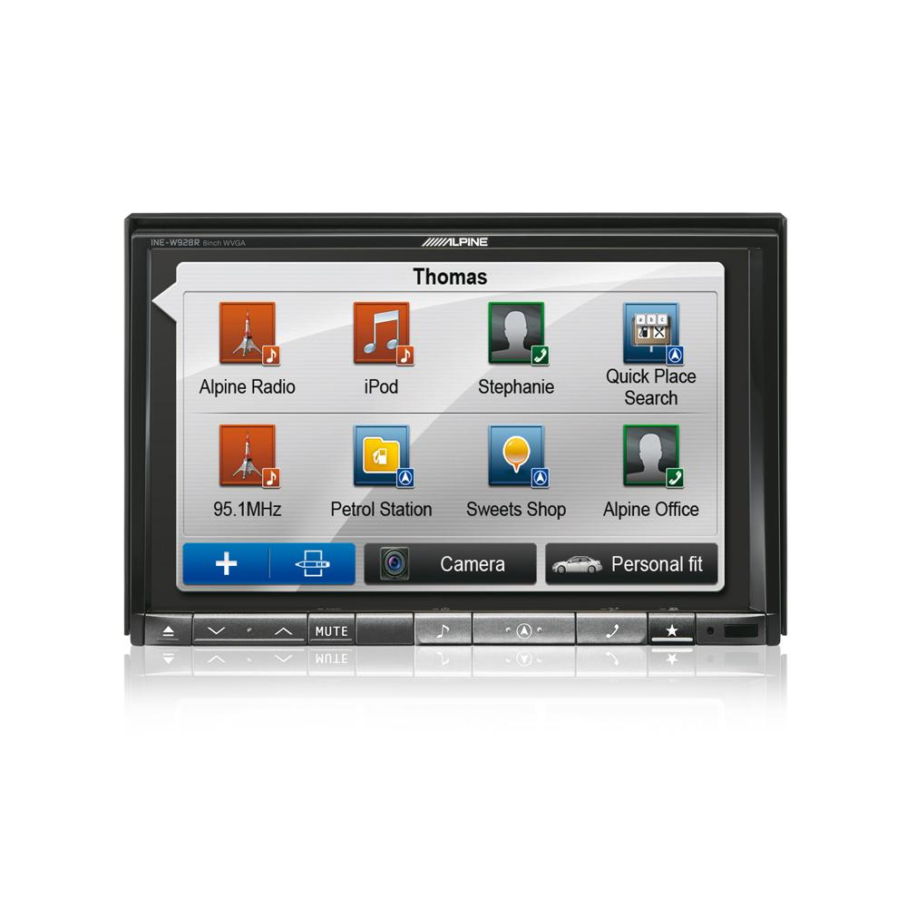 alpine ine w928r double din sat nav av master system. Black Bedroom Furniture Sets. Home Design Ideas