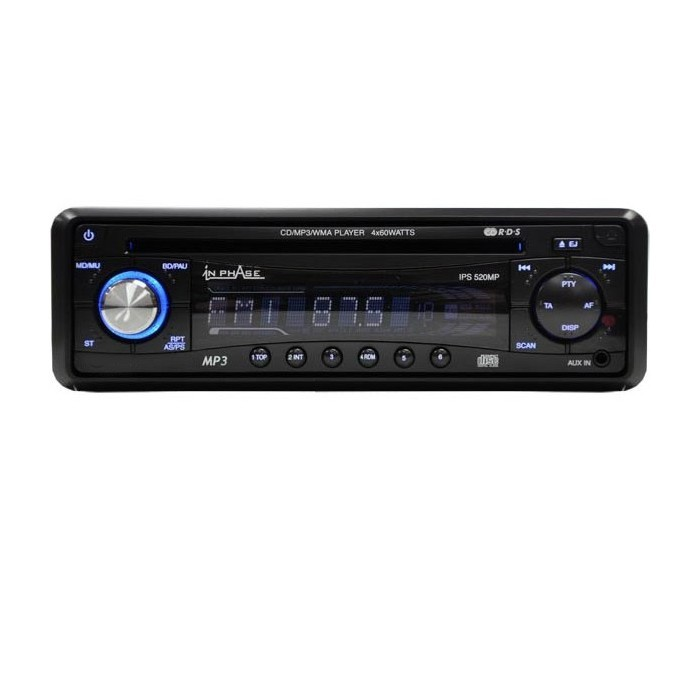 Aux input for cd player
