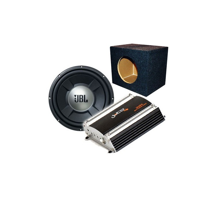 JBL GTO1202D Subwoofer, amp, box 3 in 1 deal - Car Audio Centre