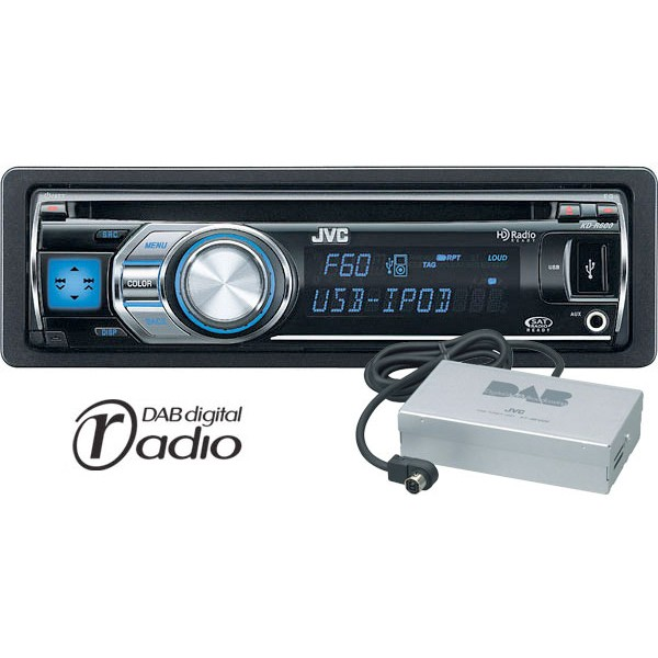 jvc kw-r510 how to change colour