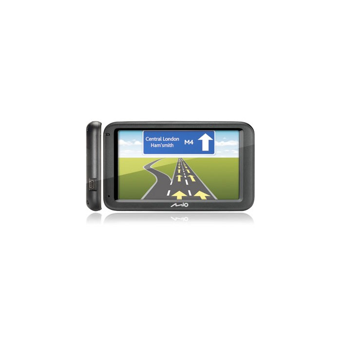 "MIO Spirit Moov M610 UK and ROI Portable Sat Nav System 5"" Screen - Car Audio Centre"