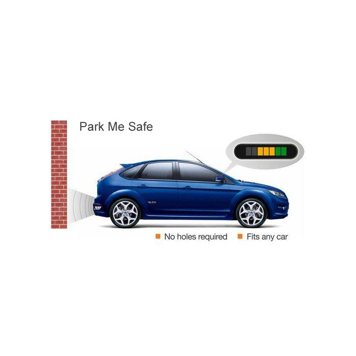 In Phase ReverseSafe Parking AID system, Invisible Sensor and Distance Display - Car Audio Centre