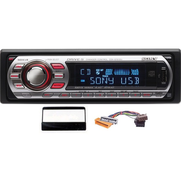 Sony CDX-GT610U Ford car stereo upgrade kit - Car Audio Centre