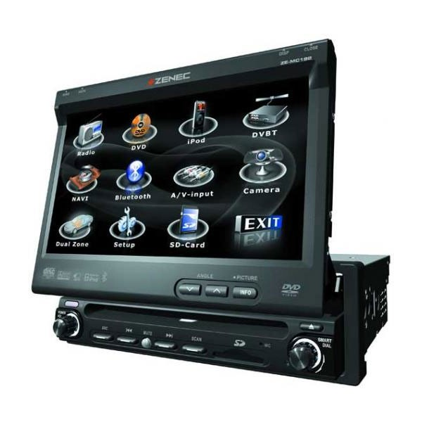 Zenec ZE-MC192 All in one 7 inch touchscreen DVD - Car Audio Centre